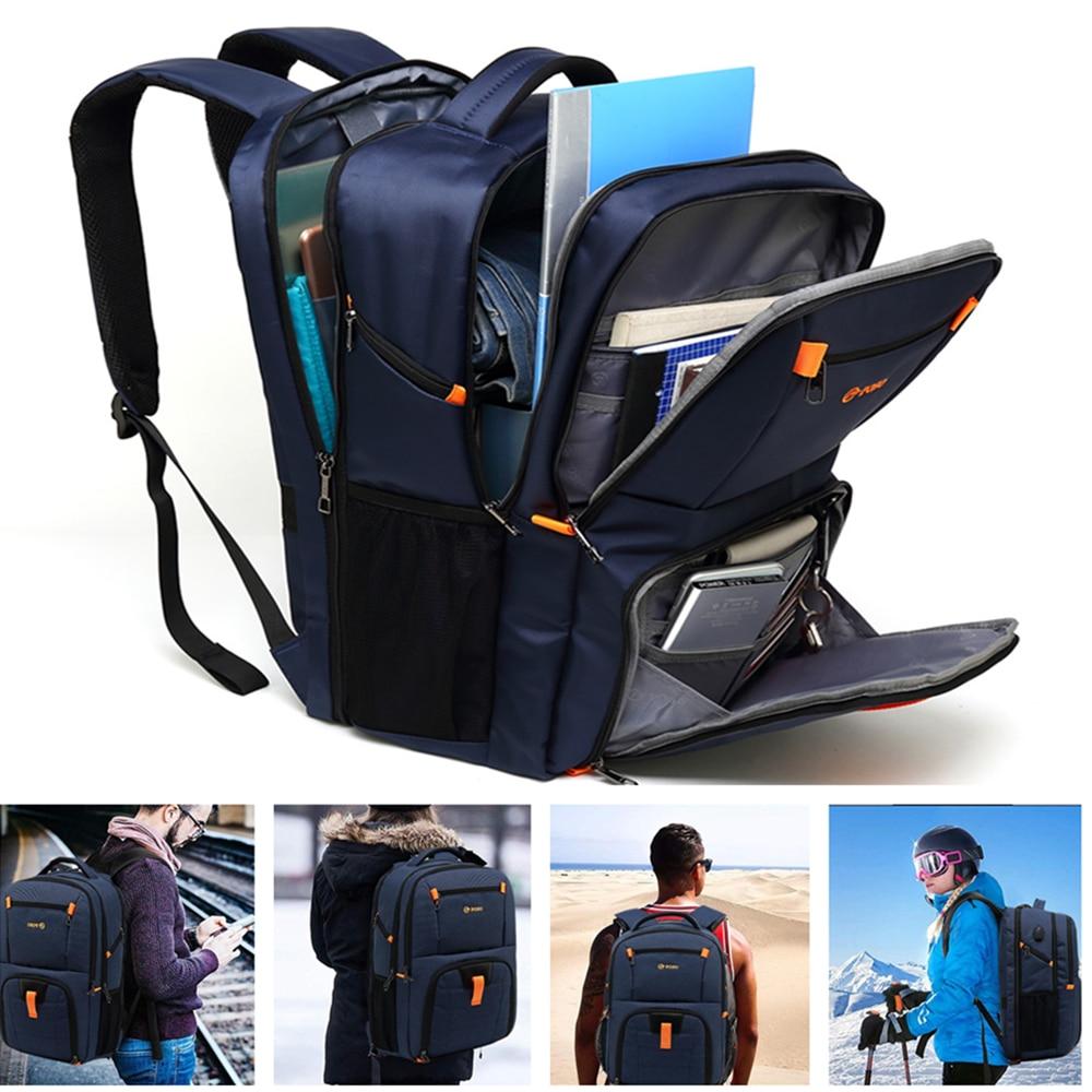 POSO Backpack 17.3 Inch Laptop Backpack Business Backpack Outdoor Nylon Waterproof Backpack Student Backpack