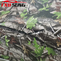 TXD Film For Wrapping Self adhesive Real tree Gun Wrap Camo Real Tree Vinyl Film With Air Bubble Free Car Sticker Decal
