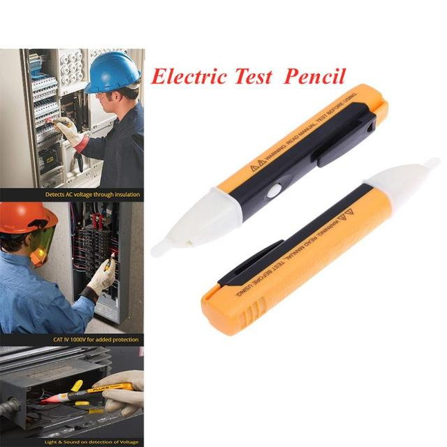 DC Non-Contact LCD Electric Voltage Detector 90-1000V Digital Test Pencil AC