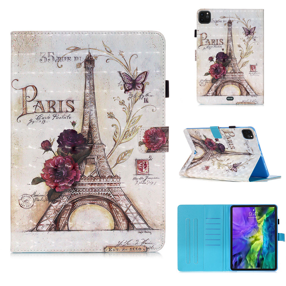 2018 Leather PU for IPad IPad Painted Cover for Fashion Case Stand Case 2020 Case 11 Pro