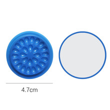 Color grafting eyelash tool disposable small glue tray flower plate gasket PVC Eyelash Pallet holder