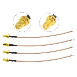1 шт. одноконцевой ключ для SMA типа «Мама» к PCB припоя косичка RG316 кабель для WI-FI Беспроводной маршрутизатор GPS GPRS низкие потери разъем провода