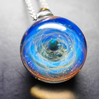 Necklace Galaxy Astronomy Pendant Solar System Jewelry Space Universe Necklace Milky Way Jewellery