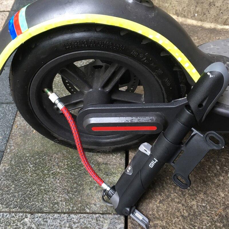 Mini taşınabilir elektrikli Scooter kaykay bisiklet hava pompası lastik şişirme Xiaomi M365 Ninebot için Pro lastikleri hava pompası|scooter tire| tire for scootertires scooter - AliExpress