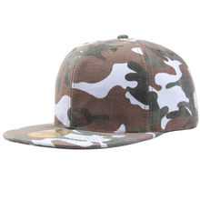 Adults Adjustable Unisex Army Camouflage Camo Cap Casquette Hat camouflage cap men and women climbing outdoor baseball caps(China)