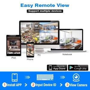 Image 3 - Hiseeu 8CH sistema di telecamere a circuito chiuso Wireless 6pcs 1080P wifi telecamera IP sistema di videosorveglianza per la sicurezza domestica esterna kit NVR