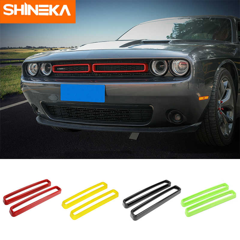 shineka racing grills for dodge challenger 2015 car grille air conditioning vent decoration cover for dodge challenger 2015 racing grills aliexpress dodge challenger 2015 racing grills