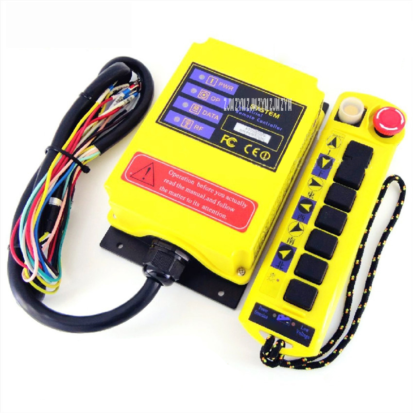 A100(CD Type) Portable Small Industrial Wireless Remote Controller Driving Crane Switch Hoisting Machine Radio Remote Control