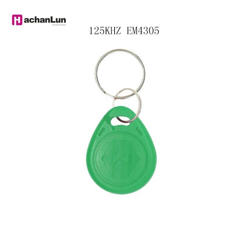 20/50/100PCS  RFID 125KHZ Tag Copy Rewritable Key Repeat Erasing EM4305 T5577 Chain Key Ring Induction Token