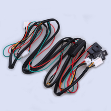 Car Universal Fog Light Wiring Harness Relay LED Driving Fog Lamp Wire Kit With OFF/ON Switch For TOYOTA vehicle1 set led light 1 to 3 wiring harness relay fuse kit 80a 12v for 12v car off road wiring harness kit loom light bar