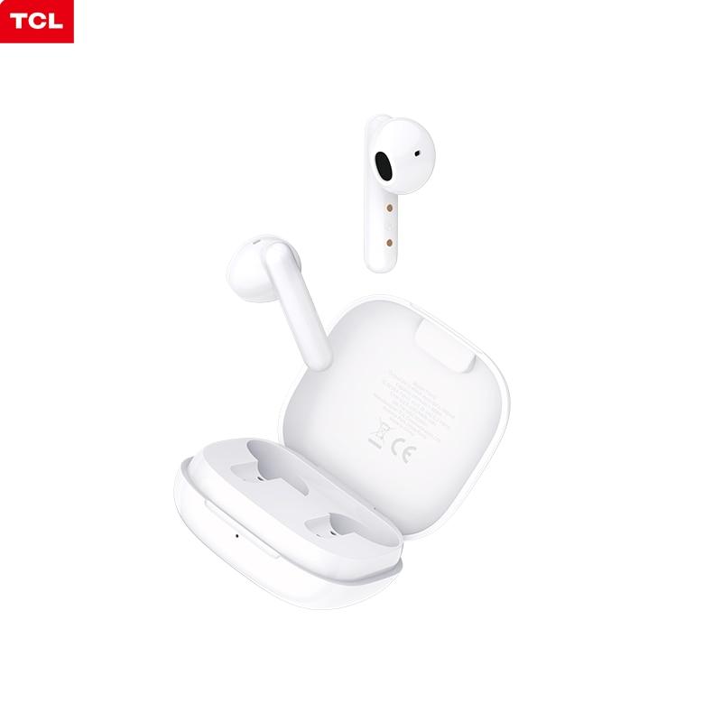 TCL наушники-вкладыши TWS с S150 наушники Bluetooth5.0 c зарядным устройством Шум изоляции Водонепроницаемый сенсорный Управление Беспроводной наушн...
