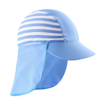 Dziewczynka chłopcy anty UV ochrona przed słońcem pływanie kapelusz słońce tanie i dobre opinie Wishere CN (pochodzenie) Ochrona uszu pływanie cap NYLON