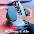 Автомобильный магнитный держатель для телефона, универсальный магнитный держатель для телефона Samsung iPhone X Xs Max Xiaomi, автомобильный держатель-...