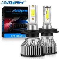 XSTORM Mini Auto Scheinwerfer H1 H4 H7 Led-lampe H8 H11 9005 HB3 9006 HB4 9004 HB1 9007 HB5 H13 led-leuchten 15000LM Turbo lampada 12V