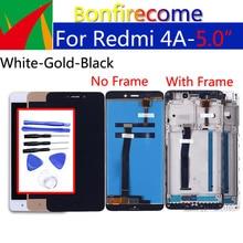 """5,0 """"LCD Display Für Xiaomi Redmi 4A Touchscreen Digitizer Mit Rahmen Montage Ersatz Für Redmi 4A LCD 1280*720"""