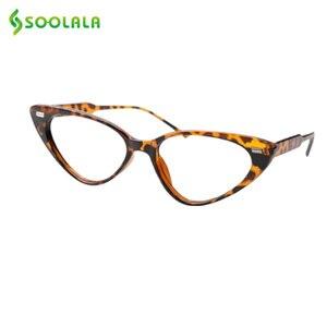 Image 4 - SOOLALA Cat Eye Reading Glasses Women Lesebrille Presbyopic Reading Glasses For Sight 1.0 1.25 1.5 1.75 to 4.0 Glasses Diopter