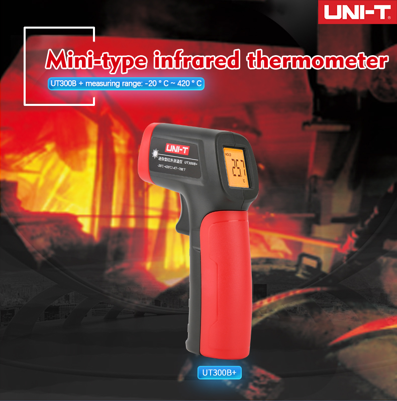 Termômetro infravermelho digital handheld do non-contact industria-20