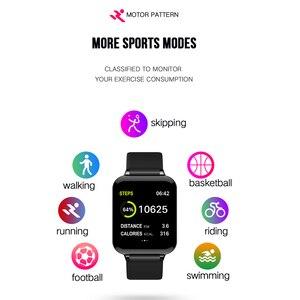 Image 3 - COXANG b57 חכם שעון עם לחץ מדידת קצב לב צג b57 Smartwatch עמיד למים מד צעדים חכם שעון ladie/גברים
