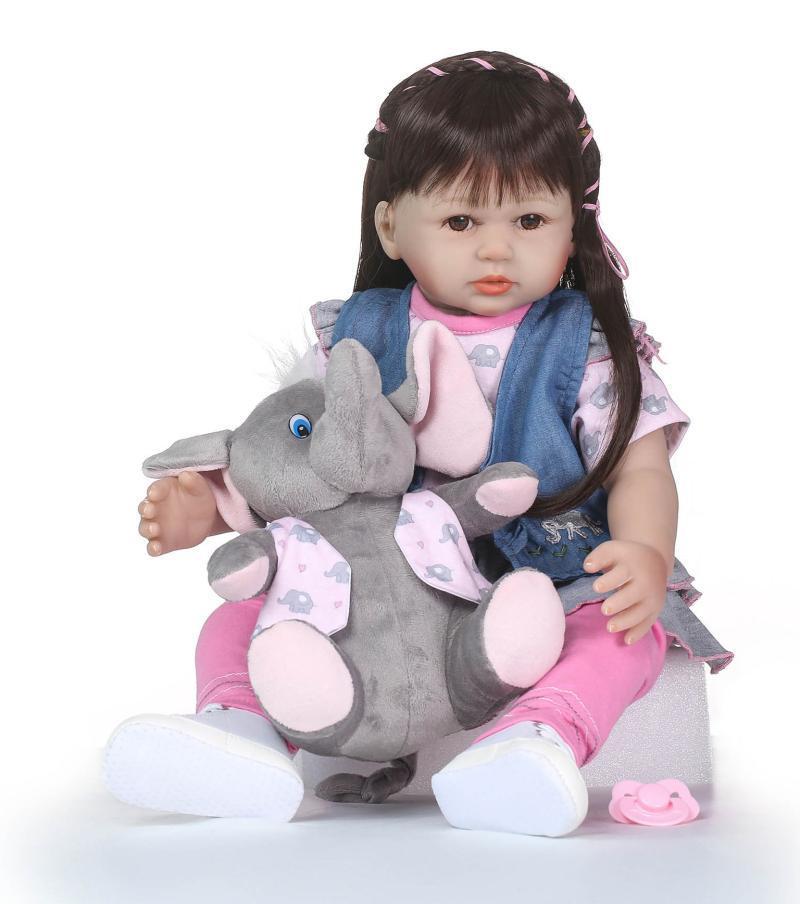 NPK Full Rubber Series Rag Baby Model Infant Popular Hot Selling Children'S Educational High-End New Year Gift