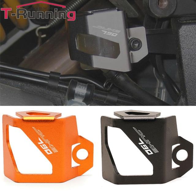 New Motorcycle Orange Rear Fluid Reservoir Cover Guard Cap For KTM DUKE 790 1290 Adventure 790 1190 1290 Super