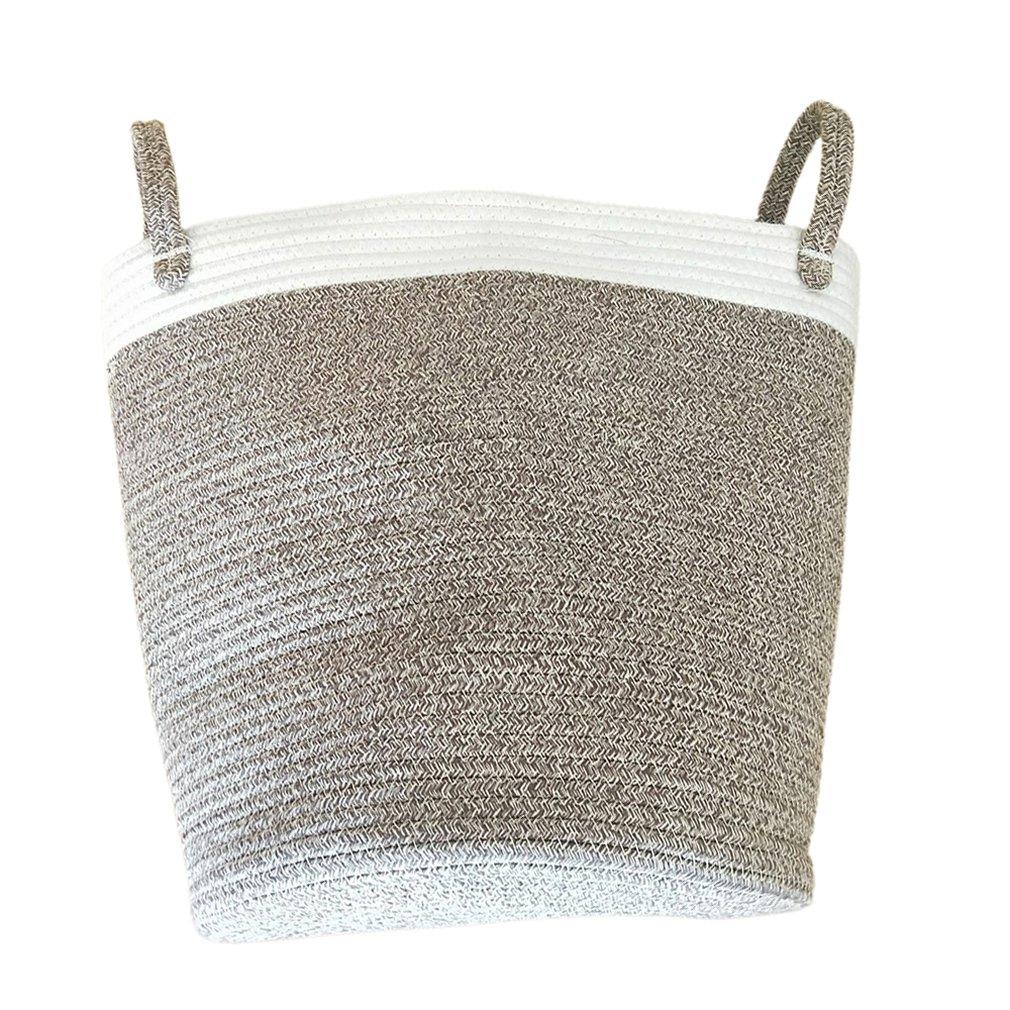 Waterproof Laundry Basket Cotton Clothes Organizer Storage Basket Large Capacity Home Sundries Storage Bucket