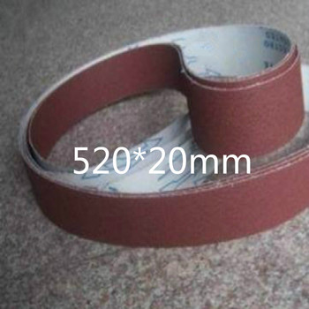 520*20mm 60-600mesh sanding belt sander sanding paper for belt grinder wheel grinding belts 20pcs/lot free shipping цена 2017