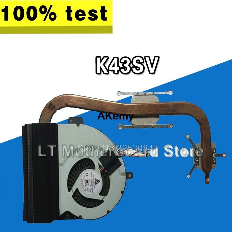 CPU Cooler Fan For ASUS A43 K43 X43 K43SD X43S K43S A43S K43SV A84S k43sj k43sm