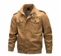 Jaqueta da motocicleta retro jaqueta de equitação dos homens da bicicleta moto à prova vento do vintage militar outwear ciclismo jaquetas outono inverno masculino novo|  -