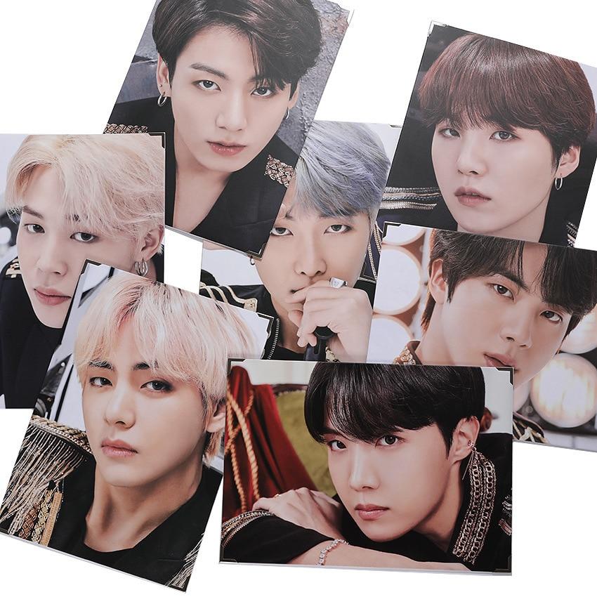 Kpop Bangtan Album SUGA Official Same Paragraph Japan Field Photo Frame Picture Album Photo Frame Periphery JUNG KOOK V RM