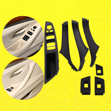 7Pc/Set Left Right Hand Drive LHD For BMW 5 Series F10 F11 F18 Interior Door Handle Inner Door Panel Pull Trim Cover Accessories car inner handle inner door panel pull trim cover left right for bmw 3 series e90 e91 316 318 320 325 328 car interior door hand