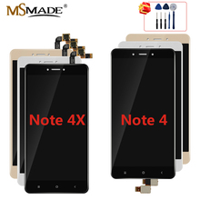 For Xiaomi Redmi Note 4 4X LCD Display Screen For Redmi Note 4 Global Version LCD For (Snapdragon 625) Display With Frame 5.5