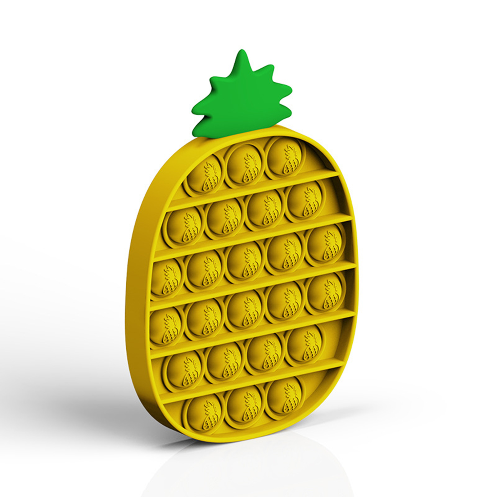 1 шт ананас Форма Спиннеры стресс игрушки пуш ап пузырь Непоседа