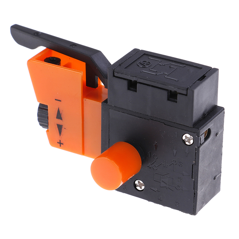 New Hot <font><b>FA2</b></font>-<font><b>4</b></font>/<font><b>1BEK</b></font> Lock On Power Electric Hand Drill Speed Control Trigger Switch 250V image