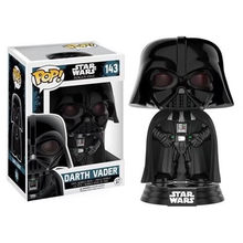 Funko POP Star Wars dark vador 143 # vinyle figurines Collection modèle jouets enfants anniversaire cadeau de noël(China)