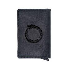New Arrivals Black  Dragon Credit Card Holder Wallet
