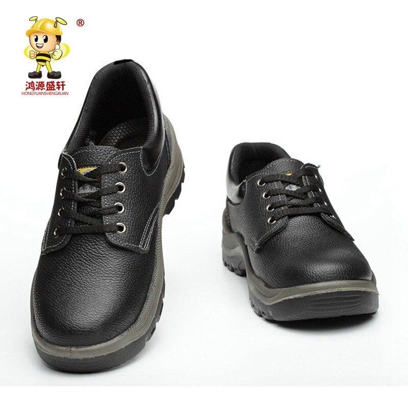 Защитная обувь со стальными головками, Противоударная и противоударная защитная обувь, рабочая площадка, строительная обувь с