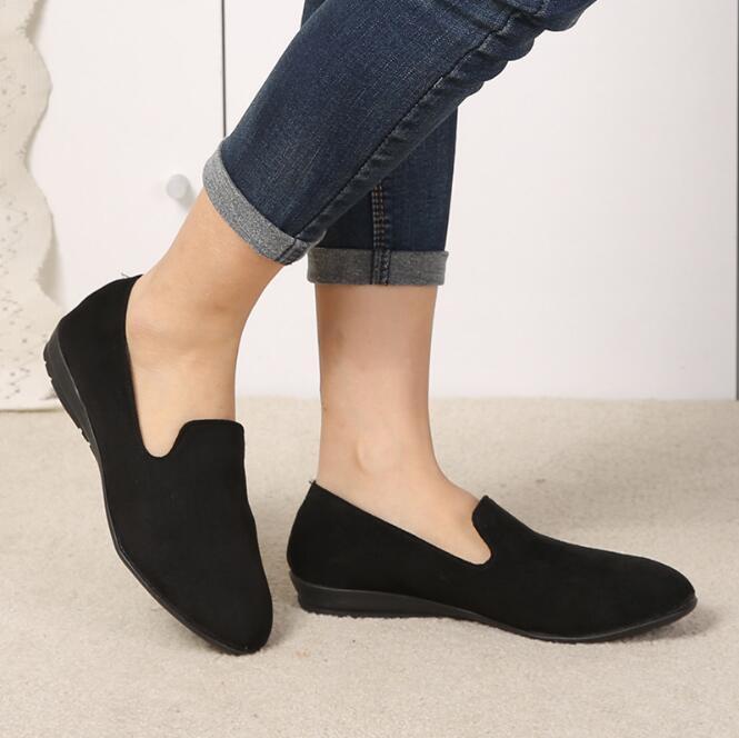 Vrouwen Flats 2019 Vrouwen Schoenen Candy Kleur Vrouw Loafers Lente Herfst Platte Schoenen Vrouwen Zapatos Mujer Zomer Schoenen Maat 35 41 - 5
