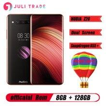 "Original ZTE Nubia Z20 6,42 ""Dual Screen Snapdragon 855 Plus Octa core IPS 2340X1080 8GB 128GB 3 Kameras 48MP 4000mAh Smartphone"