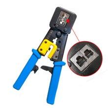 Para cat5e cat6 crimper cabos conector plugues ferramentas friso rj45 venda quente de alta qualidade