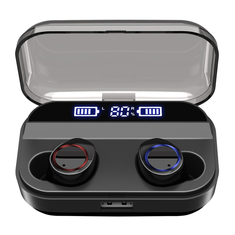 X11 TWS Bluetooth Earphone IPX7 Waterproof 5.0 with 2600mAh Charging Case Wireless headset