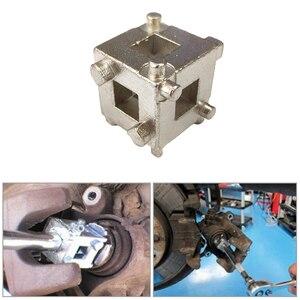 Herramienta de adaptador de Retractor de pistón de freno de disco trasero Universal para coche
