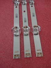 """Kit novo de 3 peças 6led 590mm, faixa de luz de fundo led para lg 32lb580 1842a drt3.032 """"um b › 2101a"""