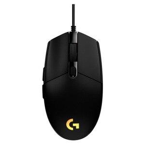 Image 5 - Игровая мышь Logitech G102 IC PRODIGY, оптическая, 8000 DPI, цветной СВЕТОДИОДНЫЙ экран 16,8 м, настройка, 6 кнопок, международная версия