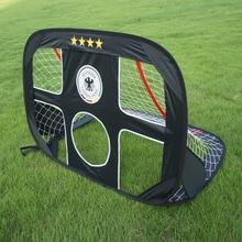 цена WISHOME Pop Up Soccer Goal Portable Football Gate Children Futbol Goal Folding Net for Kids Outdoor Indoor Toy Soccer Equipment онлайн в 2017 году