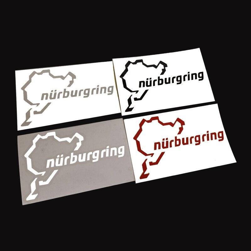 Automobil Für Auto körper heckscheibe Kraftstoff tank kappe Stamm fenster Tür Bunper Racing Motor Sport Nürburgring Aufkleber Für BYMTM