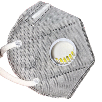 Reusable N95 Mask with Respiratory Valve Suitable for Dust Particles Influenza and Virus Protection