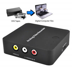 Ezcap272 Analog Video Recorder AV Capture Video Tapes Transfers to Digital Format VHS To Digital Converter for For Hi8,DVD,VCR