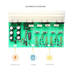 Image 4 - SOTAMIA כוח מגבר אודיו לוח סטריאו Amp 2.0 ערוץ Sanken 1494/3858 קול מגבר 150W * 2 רמקול קולנוע ביתי DIY