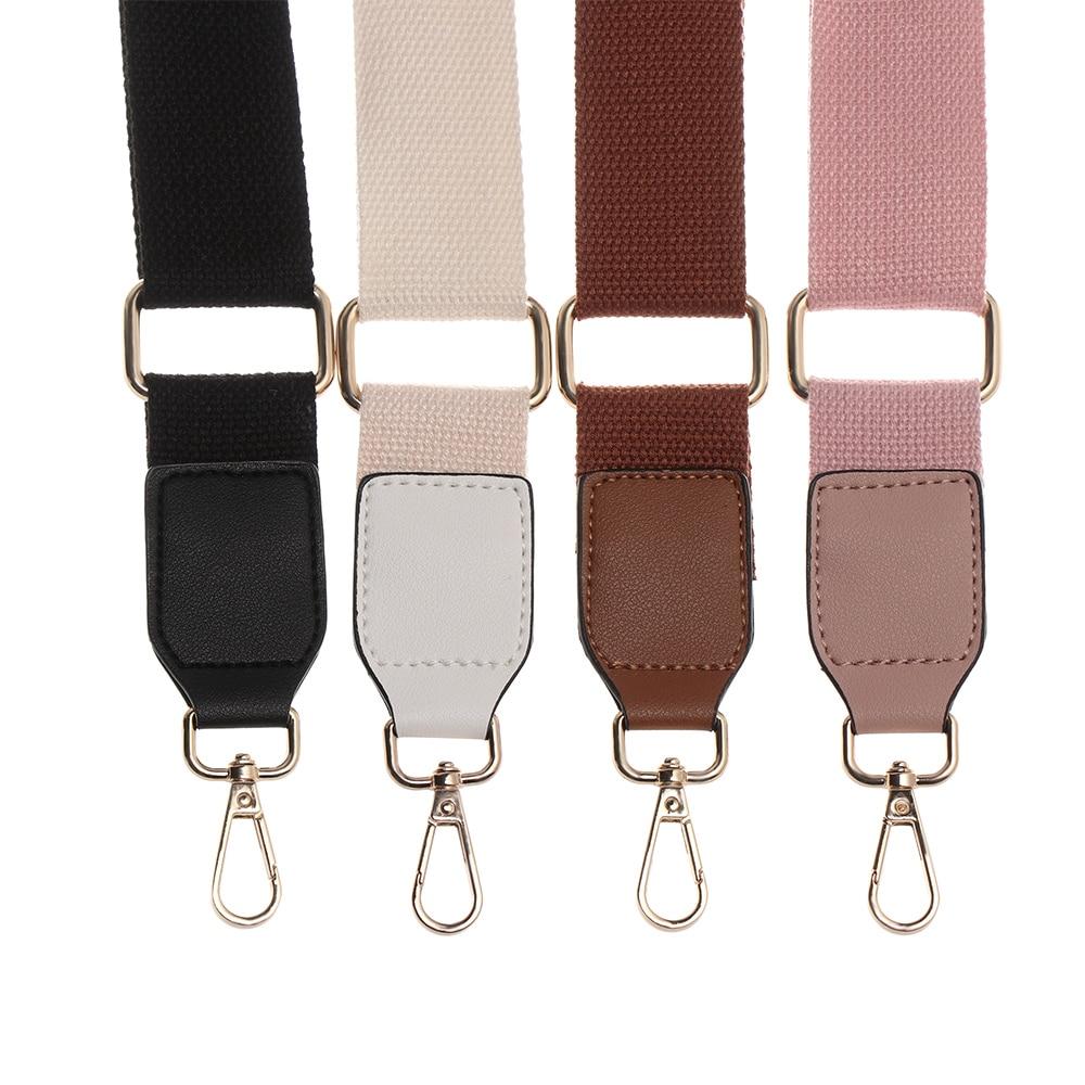 Fashion Adjustable Shoulder Bag Belt Nylon PU Durable Belt Bag Strap Hanger Handbag Accessories Wide Handbag Straps