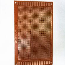 5 pces 9x15 9*15cm único lado protótipo pcb placa universal experimental baquelite placa de cobre circuito amarelo